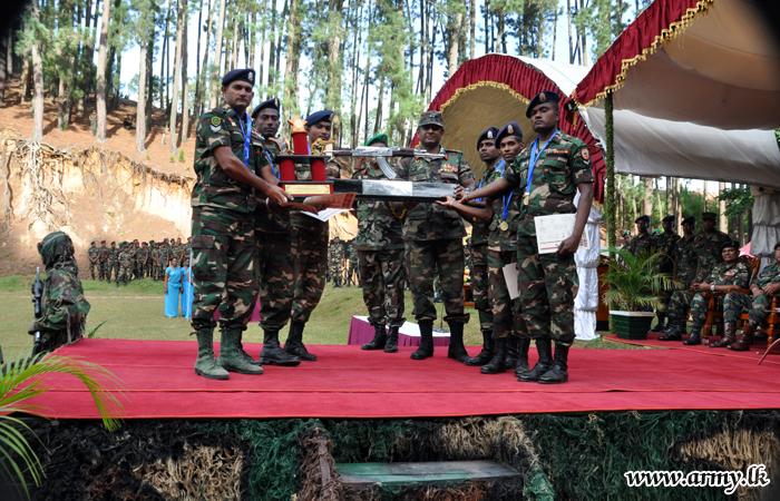 ரயிபல் துவக்கு சூட்டுப் போட்டியில் கெமுனு ஹேவா படையணிக்கு வெற்றி