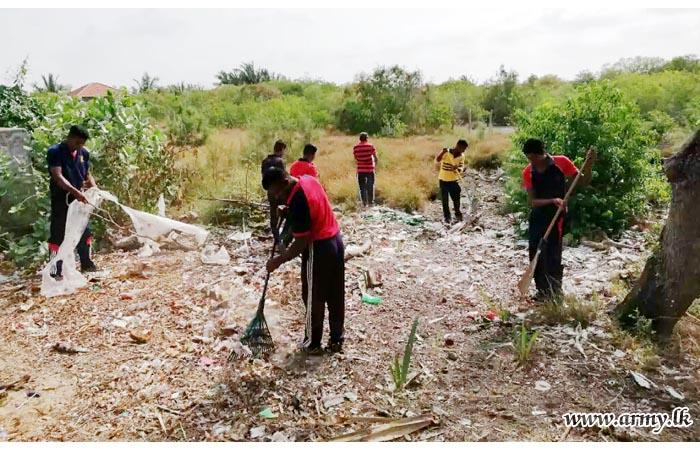 Three Brigades in Mannar Launch Dengue Prevention Programmes