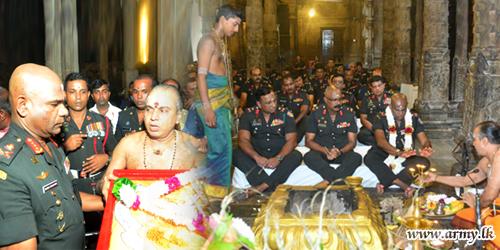 இராணுவத்தின் 69ஆவது இராணுவ தினத்தை முன்னிட்டு அபிஷேக பூஜை வழிபாடுகள்