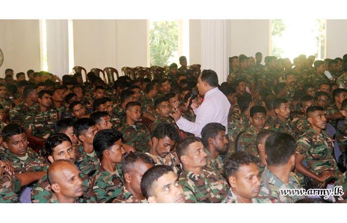 KLN Troops Educated on Mental Health
