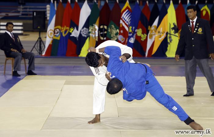 SLNG Wins Army Judo Championship – 2018