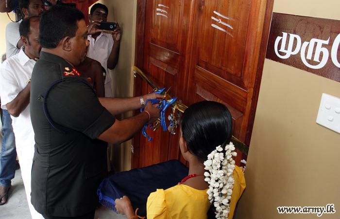 Army Constructs 6 Agrahram Residential Homes for Hindu Priests at Karainagar Shivam Kovil