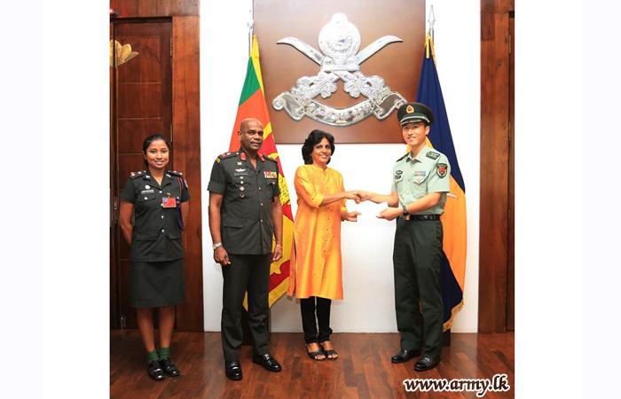 Sri Lanka Army Seva Vanitha Unit Receives Stimulant for Welfare Roles