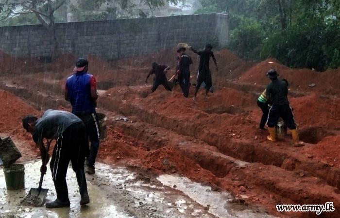 Troops Erect Rathupaswala Children's Home