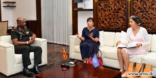 UN Resident Coordinator Extends Condolences Meeting Commander