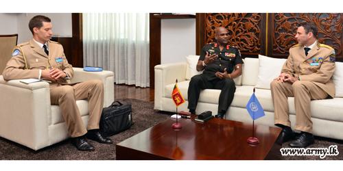 MINUSMA Force Commander Speaks High of SL Peacekeepers' Discipline, Training & Confidence