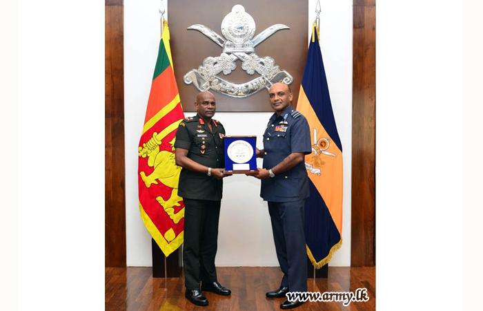 New KDU Vice Chancellor Meets Army Commander