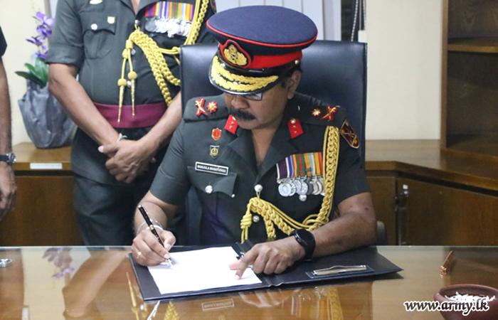 Yakkala RVAPL New Commandant Assumes Office