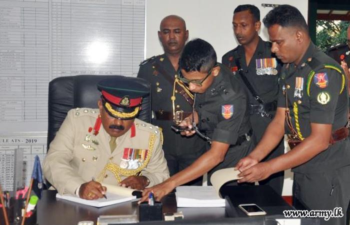 Brigadier Senarath Niwunhella, New ATS Commandant Assumes Office