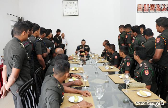Par Excellence Course No 4 for Officers Ends