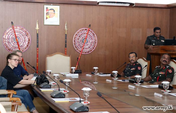 ICG Group in Jaffna Gets Update on Social Development