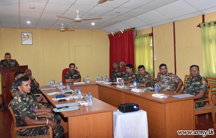 New Security Force Kilinochchi Commander Makes Formal Visits