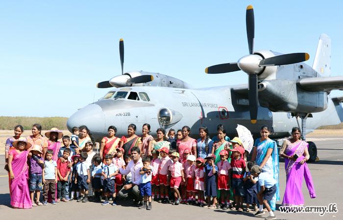 Pre-School Students Keep Visiting Palaly Airport