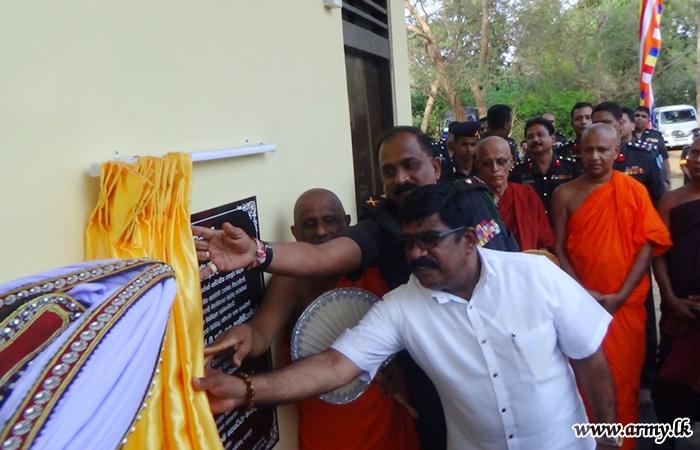 Separate New Security Accommodation at Somawathiya Opened