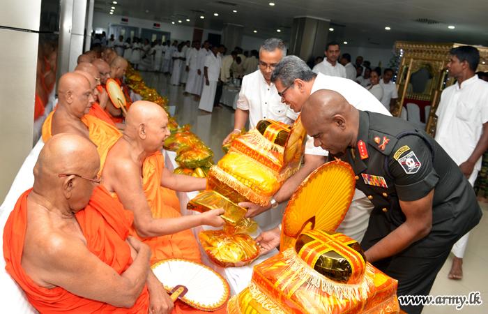 Colombo Army Hospital Turns Five Years Old: 'Pirith' & 'Sangeeka Daana' Prioritized