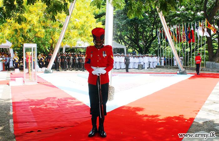 Central Province War Hero Ceremony Gets Underway at Mailapitiya