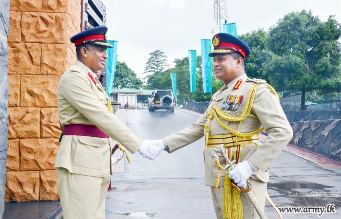 New SLSC Colonel Commandant, Major General Nilantha Hettiarachchi Assumes Office