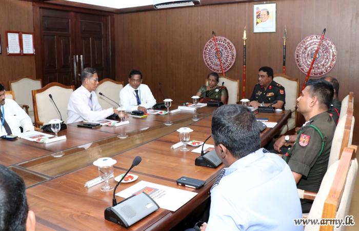 Civil Aviation Officials Talk on Palaly Airport Development