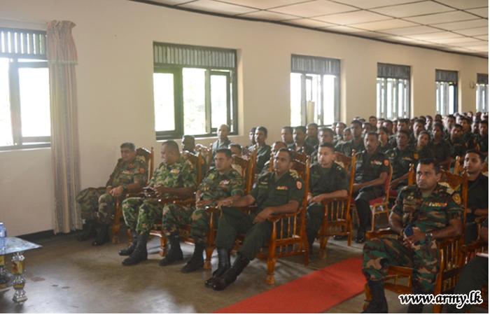 11 Div GOC Speaks to 111 & 112 Brigade Troops