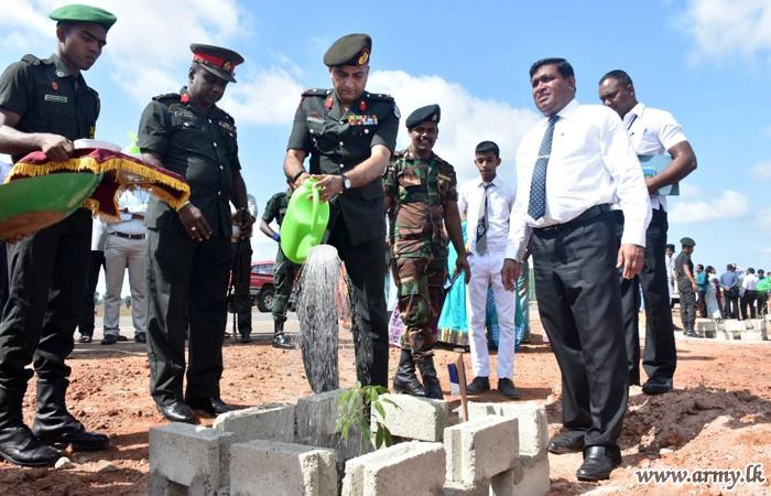 Mullaittivu Troops Launch Parallel Projects for 'Rata Wenuwen Ekata Sitimu'