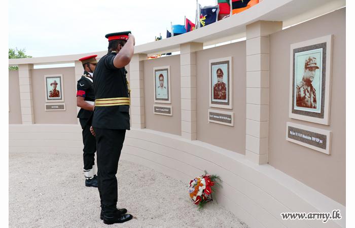 Legendary War Hero's Arali Point Monument Receives Facelift