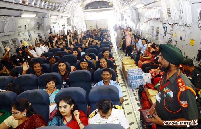 இராணுவ ஏற்பாட்டில் இடம்பெற்ற பரஸ்பர பயண நிறைவு