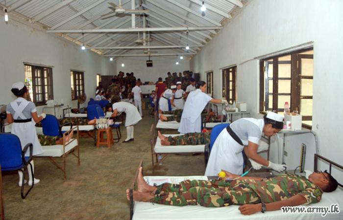 தேசிய தௌஹீத் ஜமாத் அமைப்பின் தாக்குதலை நினைவு கூர்ந்து இரத்த தானம் வழங்கி வைப்பு