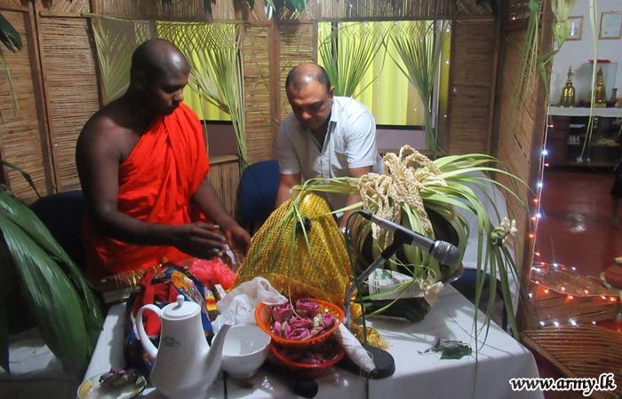 'பிரித்' போதிபூஜை ஆசிர்வாத நிகழ்வு