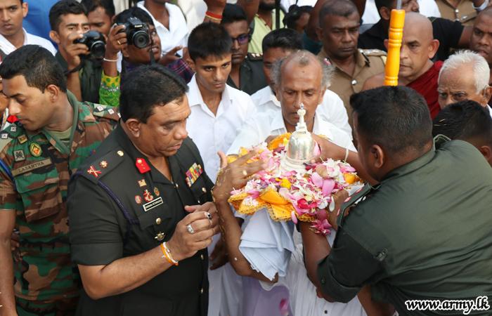 நாவற்குளி விகாரையில் இடம்பெற்ற பௌத்த நிகழ்வு