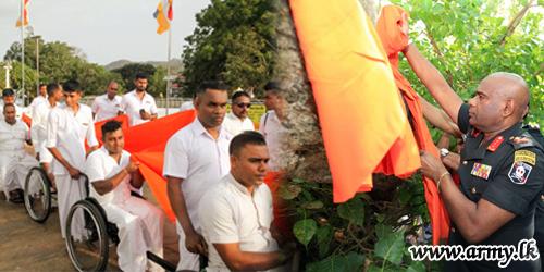 விஷேட  தேவையுடைய படை வீரர்களின் பங்களிப்புடன் இடம்பெற்ற கதிர்காம யாத்திரை