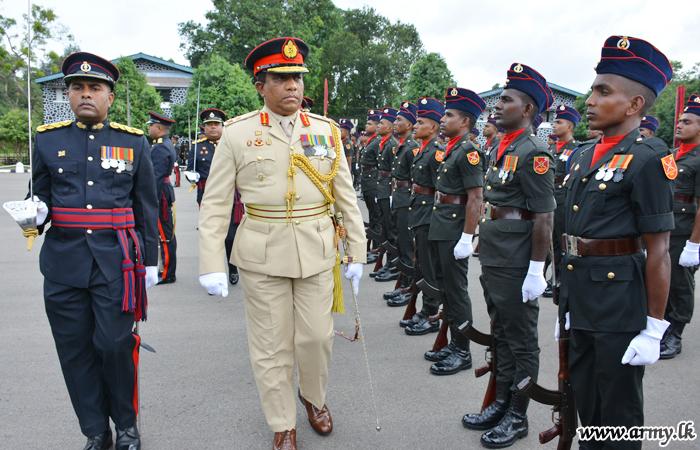 SLE Colonel Commandant Major General Hettiarrachchi Bids Farewell