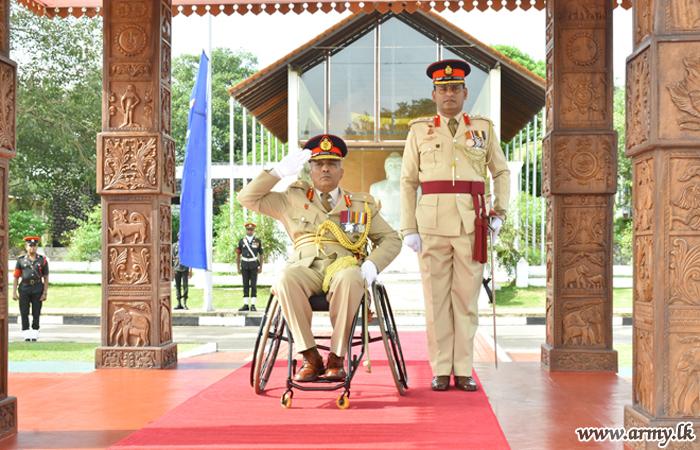 Major General J.R Ampemohotti Honoured in His Regimental HQ
