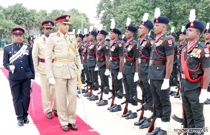Jaffna Commander Visits 55 Division