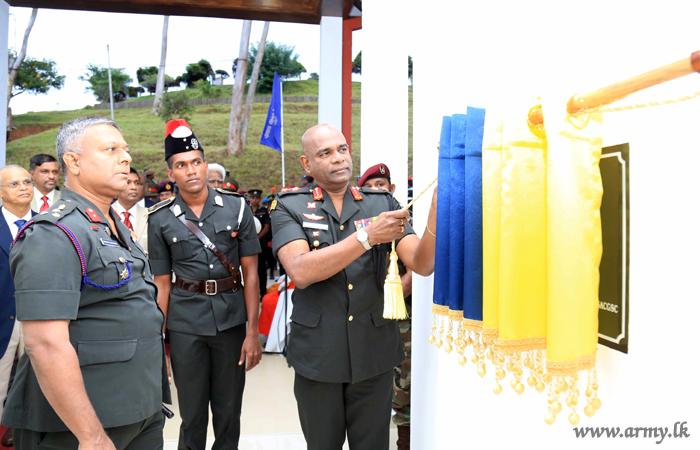 SLMA after Opening its Newest Utility Building Appreciates Academic Veterans