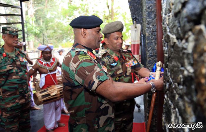 Diyatalawa MSTS' Re-established Commandant's Chalet Opened