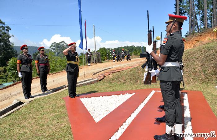 Colonel Commandant Visit 7 SLCMP
