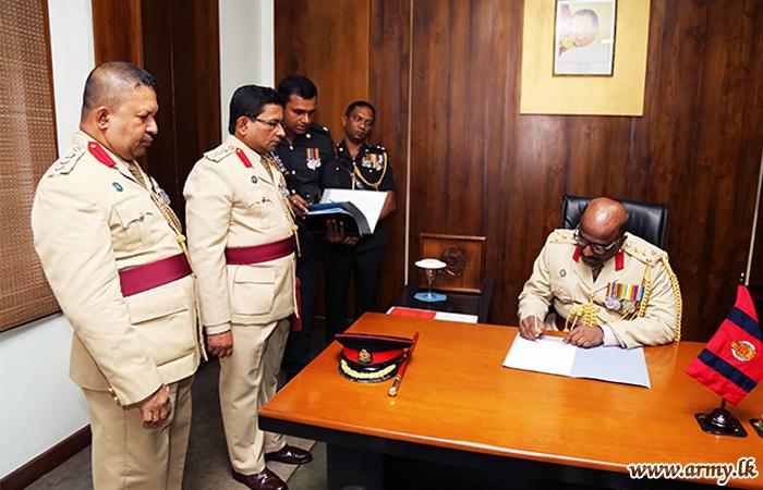 New CES Colonel Commandant Begins Duties