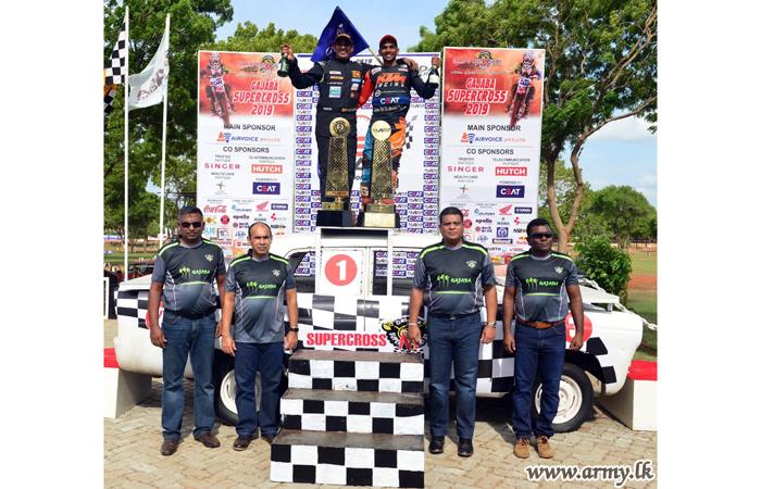 Year's Mammoth 'Gajaba Supercross - 2019' Raced Off at Saliyapura