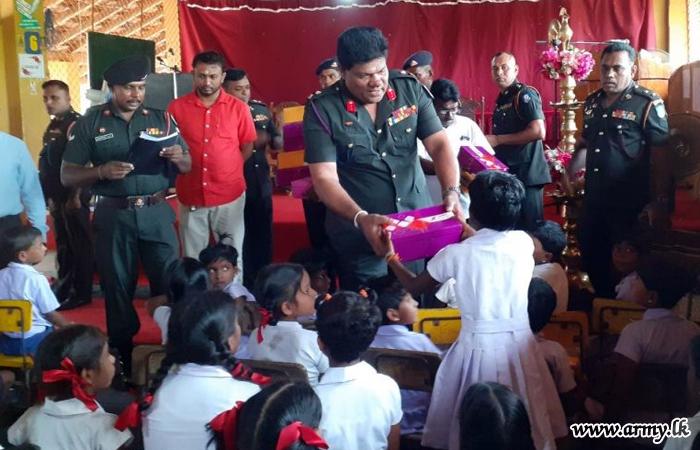 ஒட்டுசுட்டான் பாடசாலையின் 147 மாணவர்களுக்கு நன்கொடை