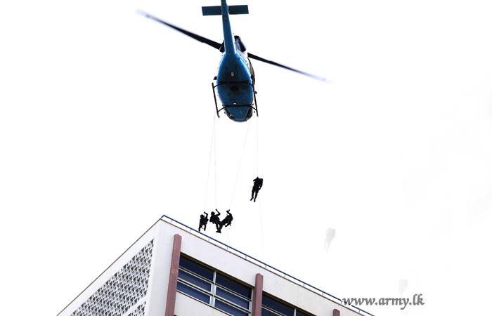 கொழும்பில் இடம்பெற்ற மிஷன் 17 'நீர்க்காக கூட்டுப்பயிற்சி ' போலி நடவடிக்கை