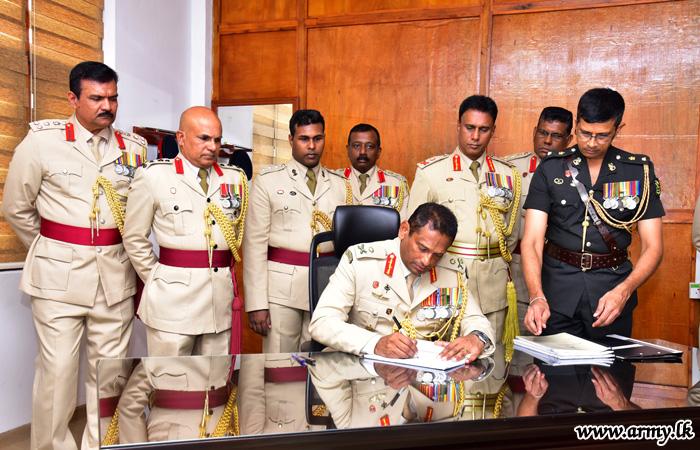Major General Nirmal Dharmaratne, New SLAVF Commandant Assumes Office