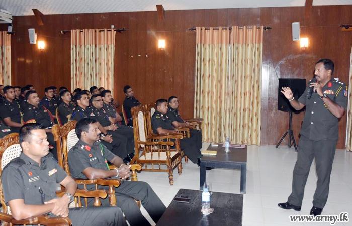 Awareness Workshop on 'Suicide prevention' Held for MLT Troops