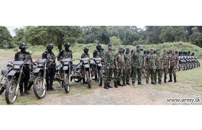 Nigerian Army Delegation Rehearses SF Training Modules at Maduru Oya