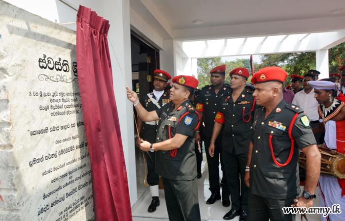 3 SLCMP Troops Get New Corporals' Club & Kitchen Unit