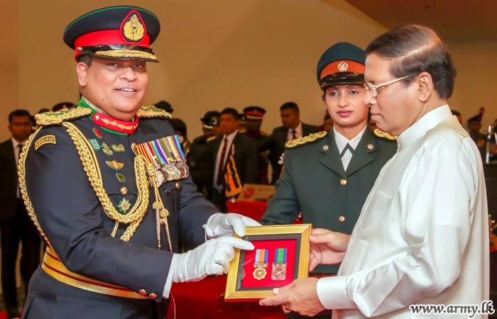 New 'Sewabhimani Padakkama' & 'Sewa Padakkama' Awarded to Servicemen, Policemen & Civil Staffers for Post-War Roles