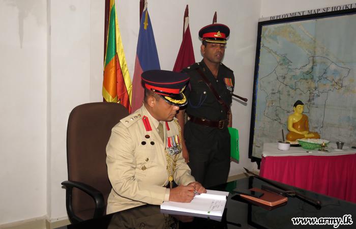 Officiating New 661 Brigade Commander Begins Duties