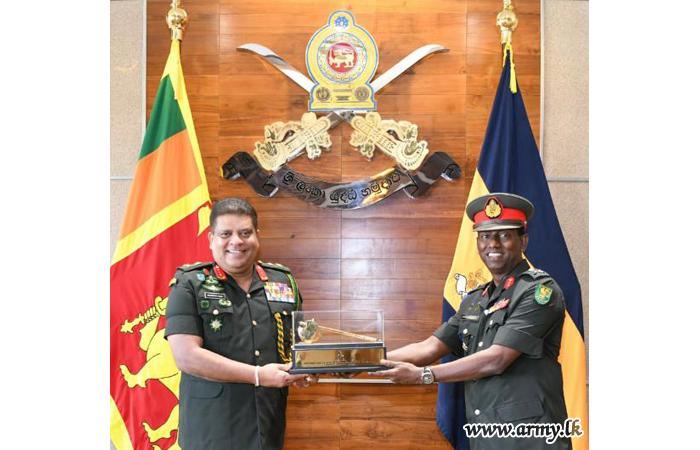 Commander Appreciates Service of Retiring Major General