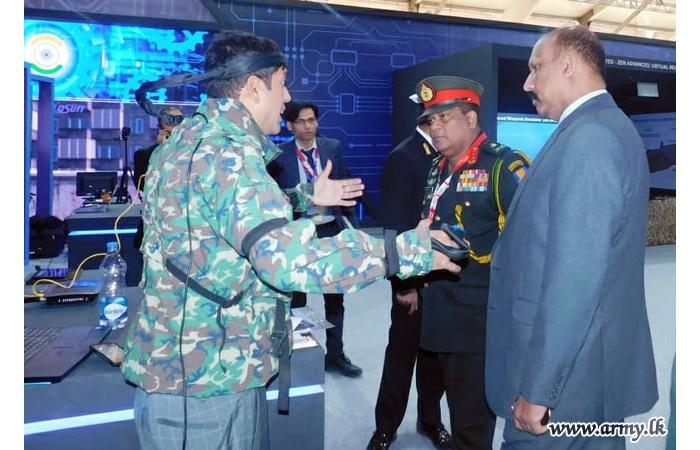 Defence Research Wing at 'DEFEXPO-2020' Attracts Sri Lankan Delegates' Focus