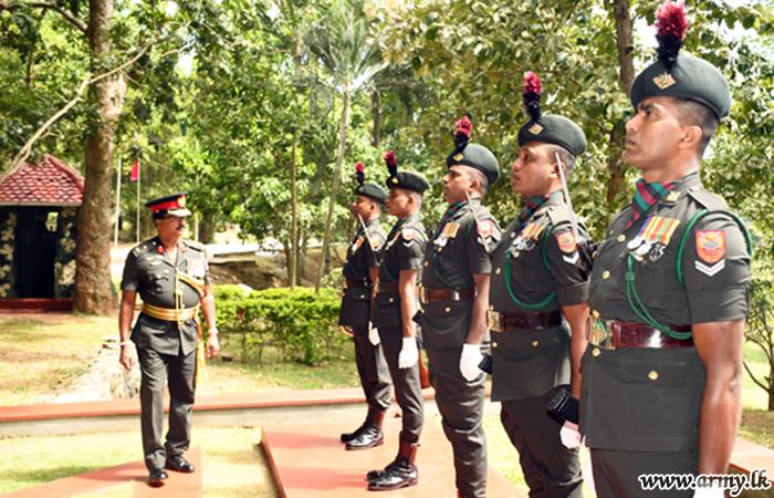 MIR Colonel of the Regiment Visits 4 MIR