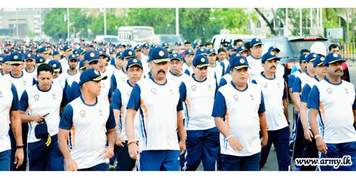 'CISM Day Run' தினத்தின் நடைபவனி நிகழ்வானது கொழும்பில்